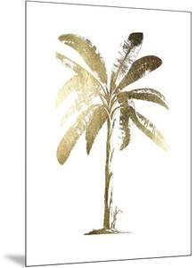 Gold Foil Tropical Palm II by Vision Studio