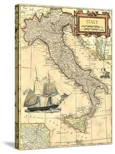 Italy Map by Vision Studio
