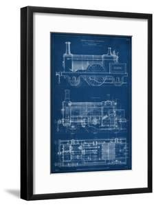 Locomotive Blueprint I by Vision Studio