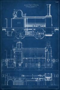 Locomotive Blueprint II by Vision Studio