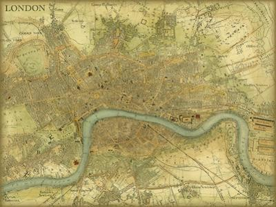 Map of London by Vision Studio