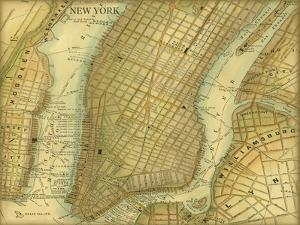 Map of New York by Vision Studio