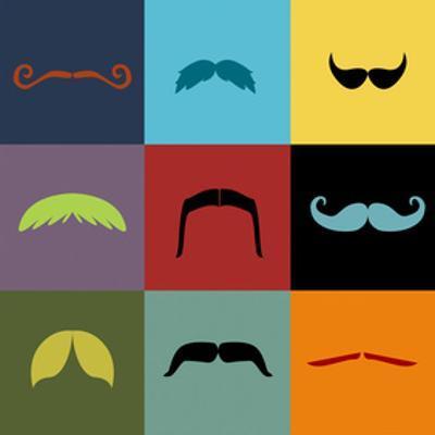 Moustache Grid