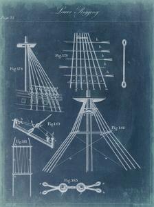 Nautical Detail Blueprint II by Vision Studio