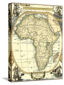 Nautical Map of Africa by Vision Studio