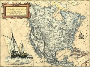North America Map by Vision Studio