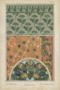Nouveau Floral Design I by Vision Studio