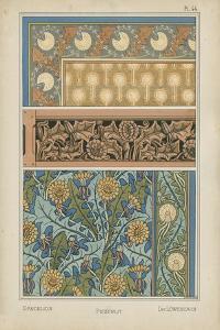 Nouveau Floral Design II by Vision Studio