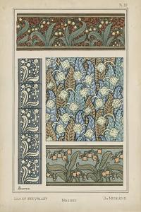 Nouveau Floral Design IV by Vision Studio