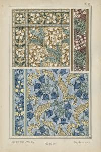 Nouveau Floral Design V by Vision Studio