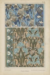 Nouveau Floral Design VII by Vision Studio