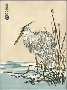 Oriental Crane I by Vision Studio