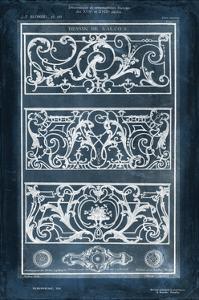 Ornamental Iron Blueprint II by Vision Studio