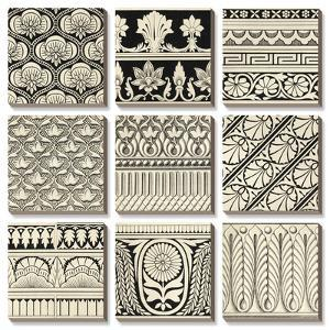 Ornamental Tile Motif by Vision Studio