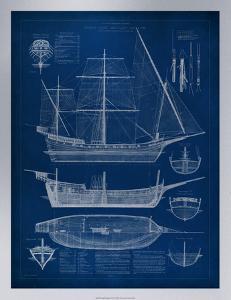 Ship Blueprint I by Vision Studio
