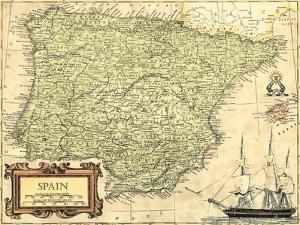 Spain Map by Vision Studio