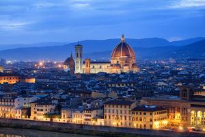 Florence Skyline by Visions Of Our Land