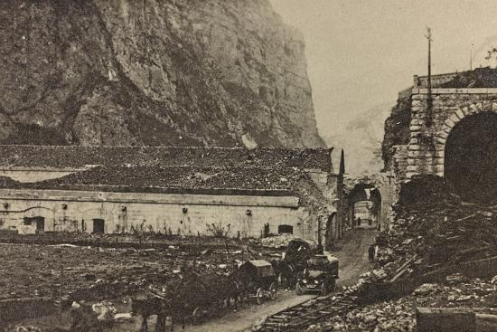 Visions of War 1915-1918: Forte Tombien Beginning of Val Sugana  Photographic Print by Vincenzo Aragozzini | Art com