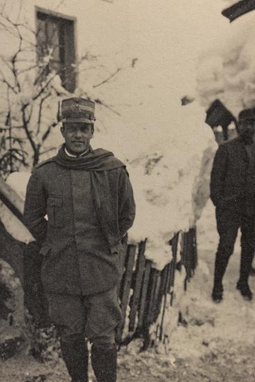 Visions of War 1915-1918: Portrait of General Peppino Garibaldi-Vincenzo Aragozzini-Photographic Print