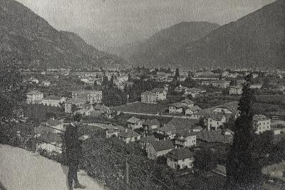 Visions of War 1915-1918: View of Trento at the End of the First World War-Vincenzo Aragozzini-Photographic Print