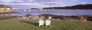 'Lawn Chairs at Lobster Village, Tenants Harbor, Maine' by VisionsofAmerica/Joe Sohm