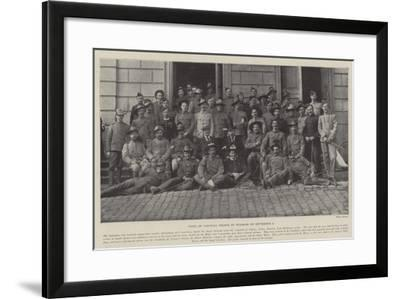 Visit of Colonial Troops to Windsor on 3 September--Framed Giclee Print