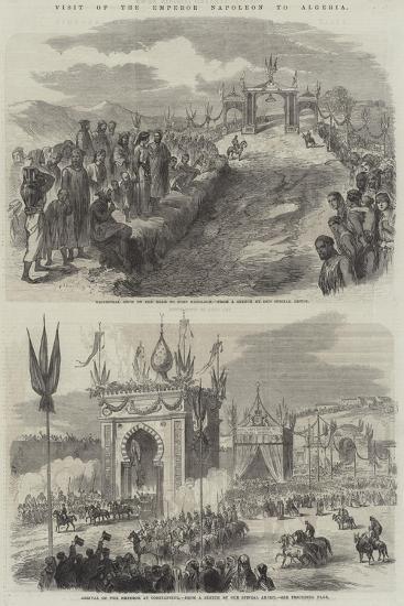 Visit of the Emperor Napoleon to Algeria--Giclee Print