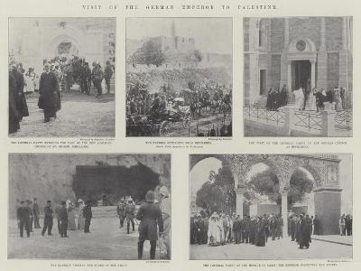 Visit of the German Emperor to Palestine--Giclee Print