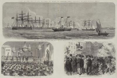 Visit of the Prince and Princess of Wales to Denmark--Giclee Print
