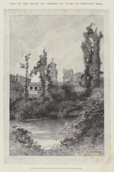 Visit of the Prince and Princess of Wales to Trentham Hall-Charles Auguste Loye-Giclee Print