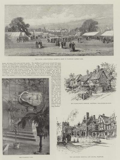 Visit of the Prince of Wales to Warwickshire--Giclee Print