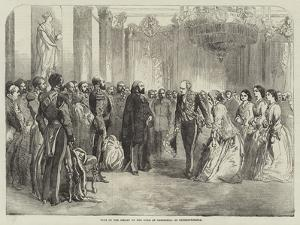 Visit of the Sultan to the Duke of Cambridge, at Constantinople