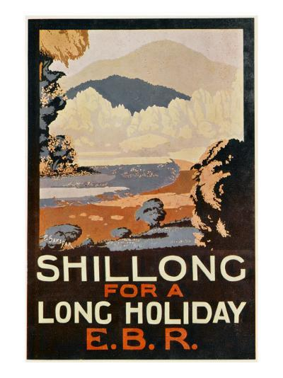 Visit Shillong, India for a Long Holiday--Giclee Print