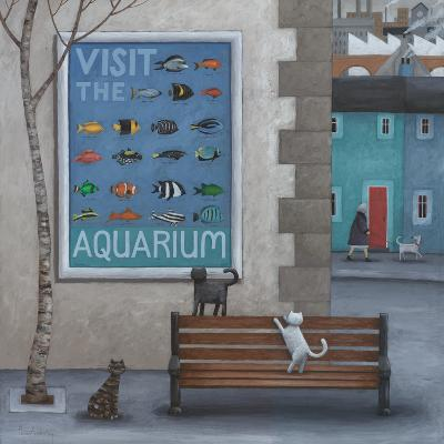 Visit the Aquarium-Peter Adderley-Art Print