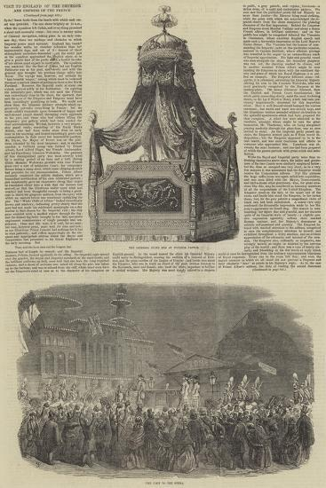 Visit to England of the Emperor and Empress of the French--Giclee Print