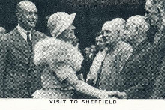 'Visit to Sheffield', 1934 (1937)-Unknown-Photographic Print