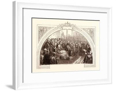 Visit to the Dublin Great Exhibition by Queen Victoria, August 30, 1853, Ireland--Framed Giclee Print