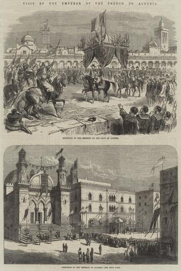 Visit to the Emperor of the French to Algeria--Giclee Print