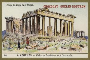 Visit to the Parthenon and the Acropolis, Athens