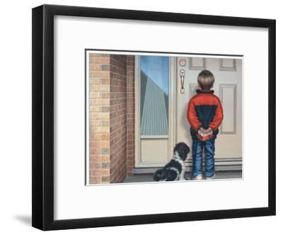 Visit-Mary G. Smith-Framed Art Print