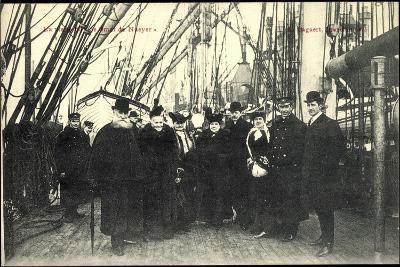 Visite Du Smet De Naeyer, Seeleute Belgien--Giclee Print