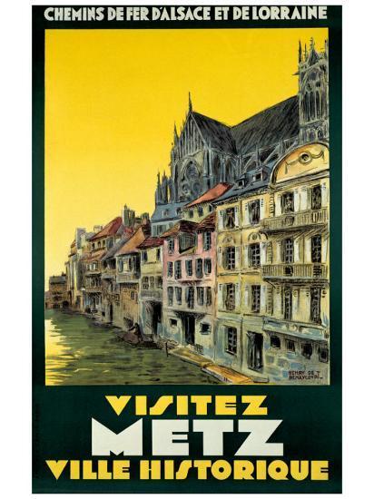 Visitez Metz-H^ De Renancourt-Giclee Print