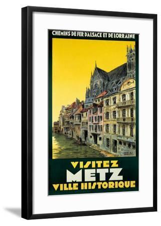 Visitez Metz-H. De Renancourt-Framed Giclee Print