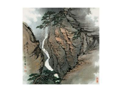 Visiting the Cave No. 18-Zishen Zhang-Giclee Print