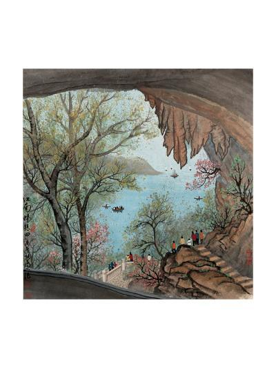 Visiting the Cave No. 22-Zishen Zhang-Giclee Print