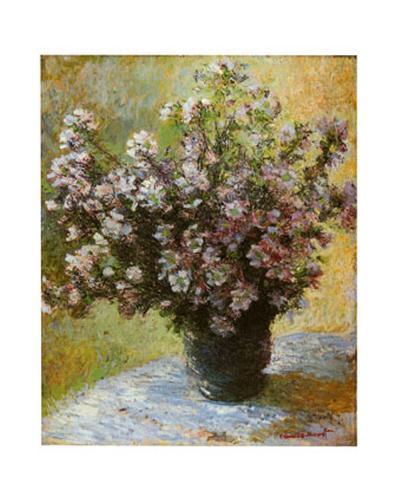 Viso di Malva-Claude Monet-Art Print