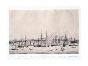 Vista de La Toma Del Pueblo de La Mar en La Isla Margarita (Venezuela), 1817