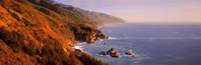 Vista Point, Big Sur, California, USA--Photographic Print