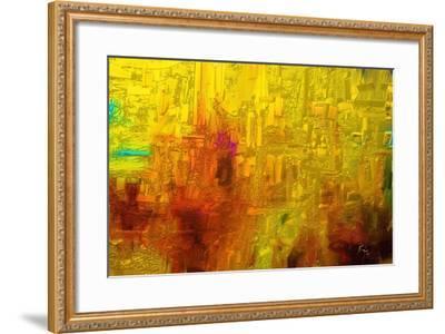 Visual 2-Rabi Khan-Framed Art Print