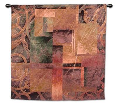 Visual Pattern II-Linda Thompson-Wall Tapestry